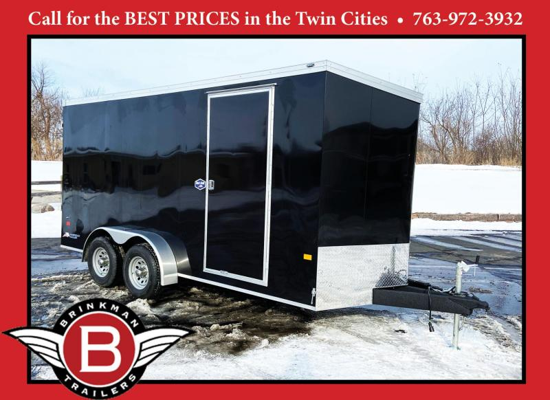 American Hauler 7x16 Enclosed Cargo Trailer - 7' Interior - 10K GVWR