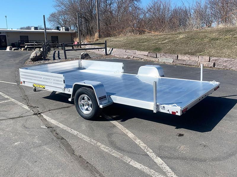 Aluma 8115 Aluminum ATV/UTV Trailer w/Side Loading Ramps!