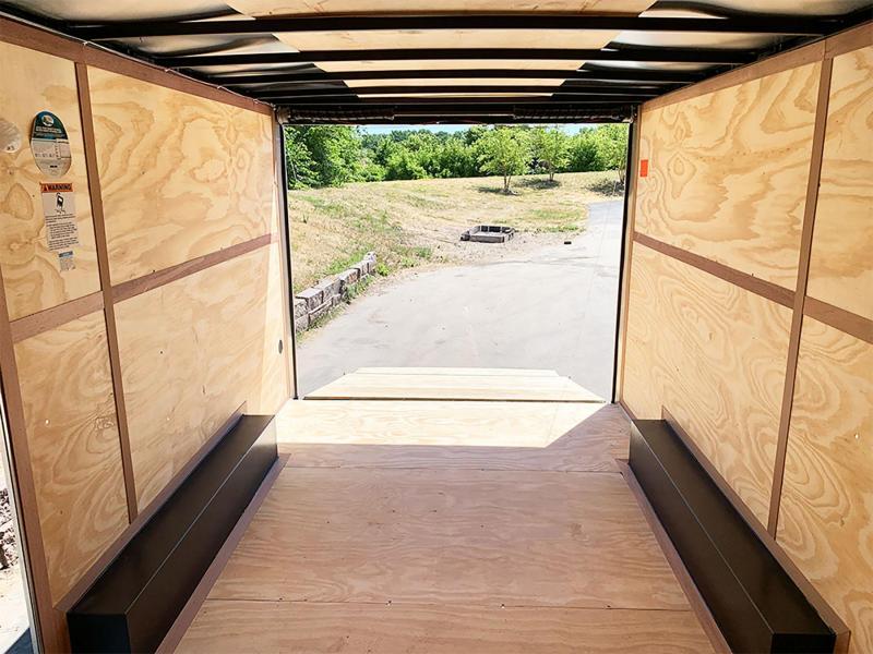 Continental 8.5x16 Enclosed UTV Trailer - 7' Int. - Rear Ramp!