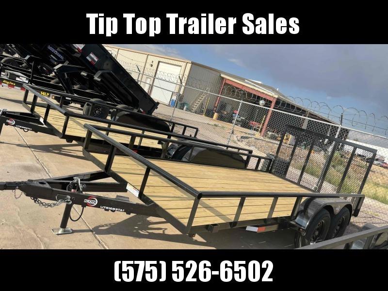 2021 ICON Trailers UTG1683 Utility Trailer