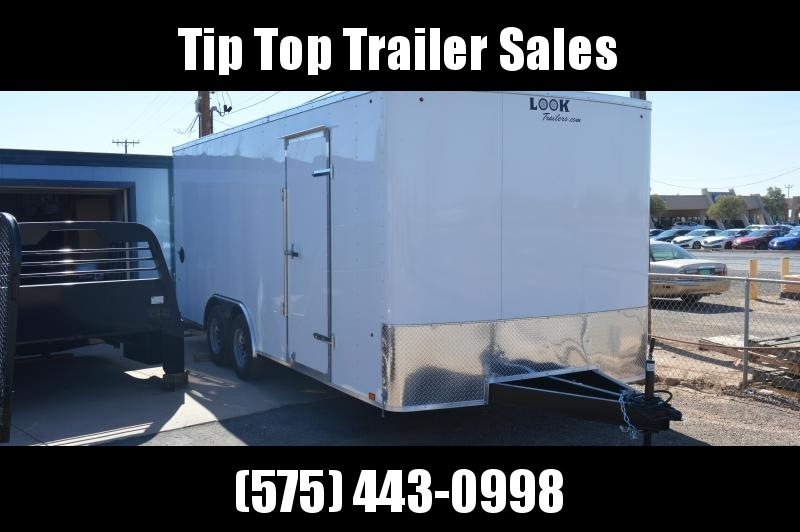 2021 Look Trailers STLC 8.5X20TE2 DLX Enclosed Cargo Trailer