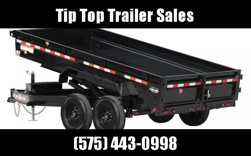 2021 PJ Trailers DG142 LowPro Dump Trailer
