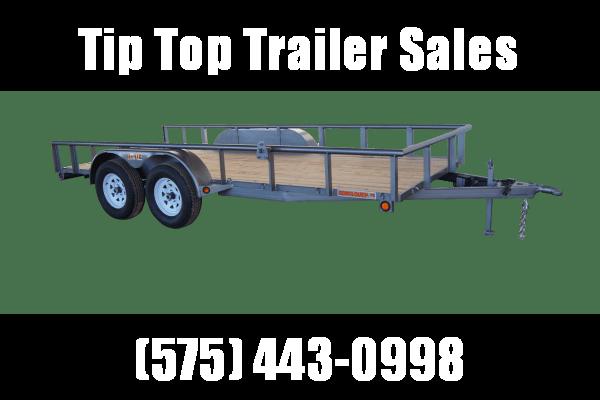 2021 GR Trailers 7' x 12' Tandem Axle Utility Trailer (UT7012WR07L) Utility Trailer
