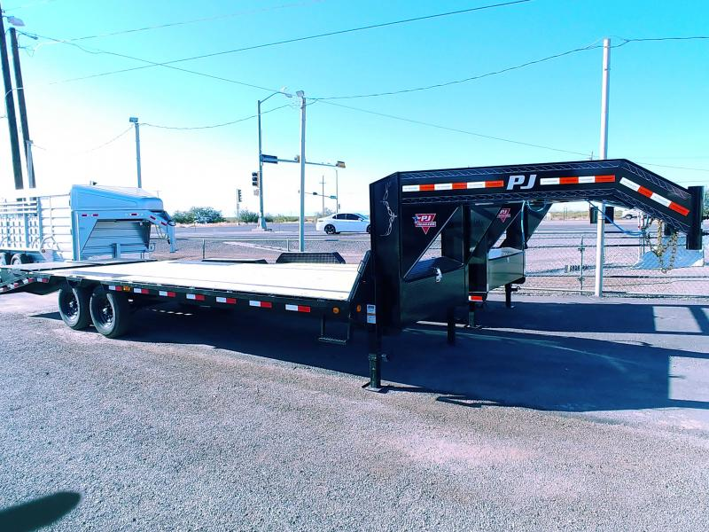 2021 PJ Trailers Low-Pro Flatdeck with Singles (LS) Flatbed Trailer