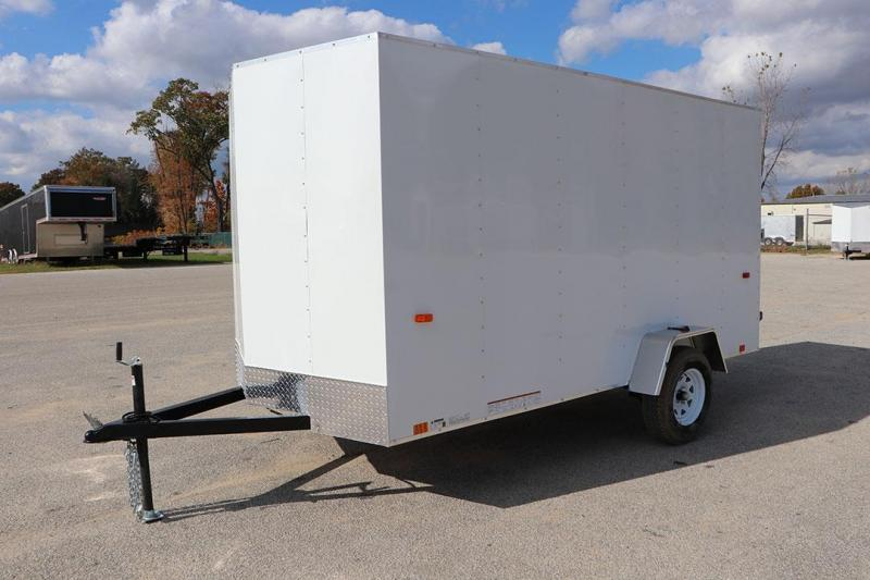 2021 Look Trailers EDLC6X12SI2 Round Top Enclosed Cargo Trailer 144 72 66