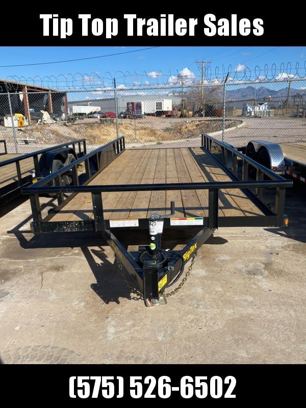 2021 Big Tex Trailers 70PI-20xBK Utility Trailer