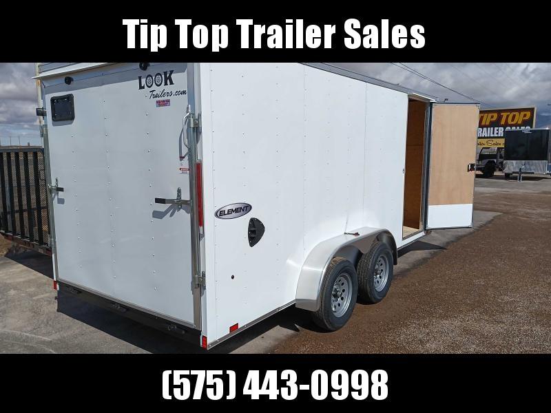 2022 Look Trailers EWLC7X16TE2 Flat Top Enclosed Cargo Trailer