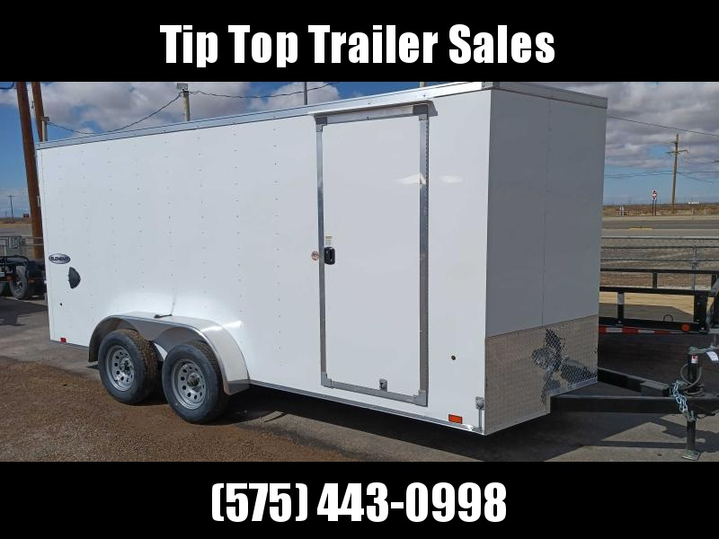2022 Look Trailers EWLC7X16TE2 Flat Top Enclosed Cargo Trailer