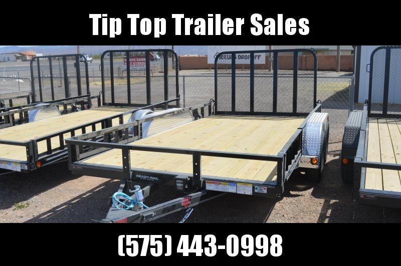 "2021 PJ Trailers 83"" x 14' 83"" Tandem Axle Channel Utility (UL) Utility Trailer"