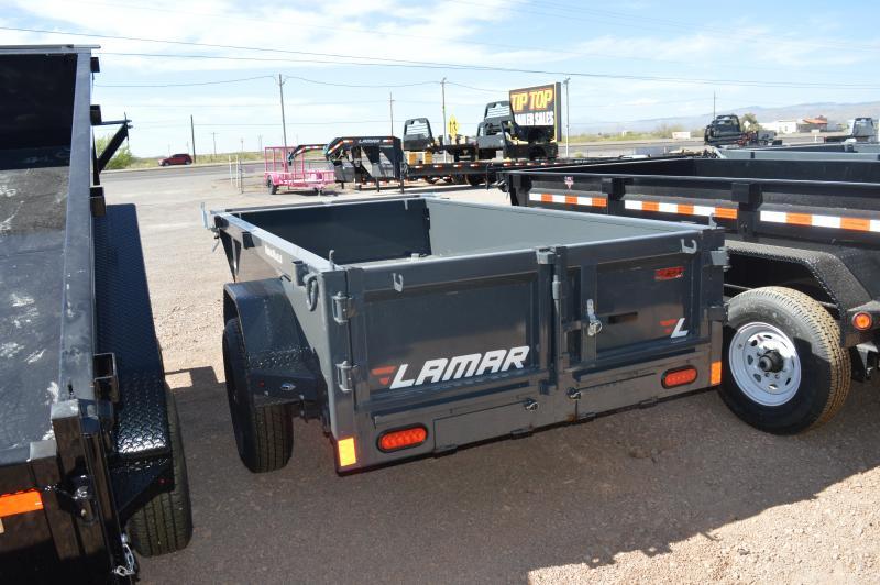 2020 Lamar Trailers 5'X10' Mini Dump (DS) 7K - 10K Dump Trailer