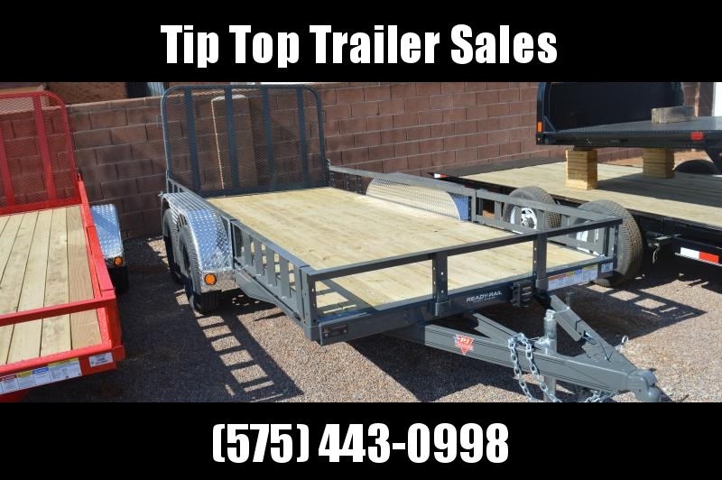 "2021 PJ Trailers 14'x77"" Tndm Axle Channel Utility Trailer"