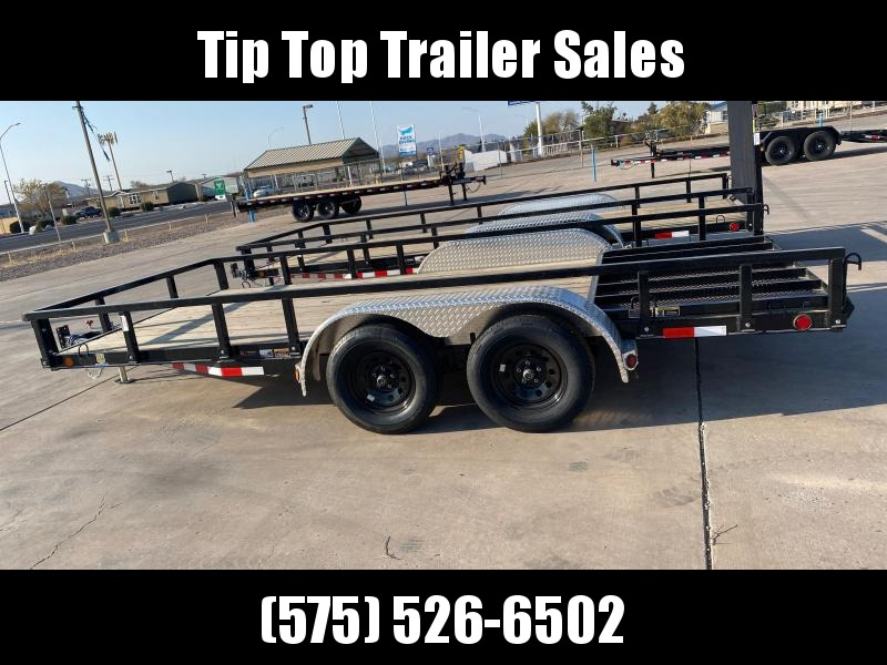 2021 Load Trail UT182 Utility Trailer