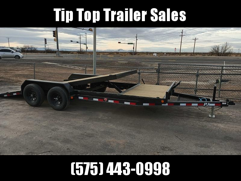 2021 PJ Trailers 5 in. Channel Tilt Carhauler (T5) Car / Racing Trailer