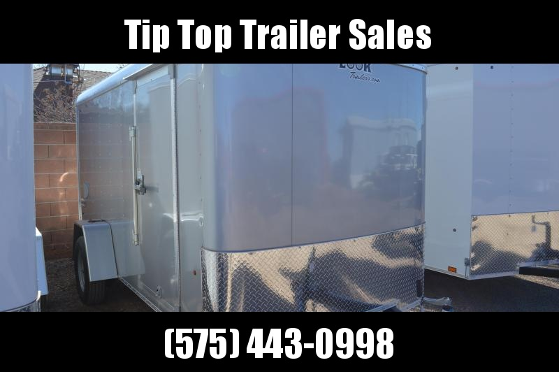 2020 Look Trailers 6'X12' Element Cargo Round Top Cargo / Enclosed Trailer