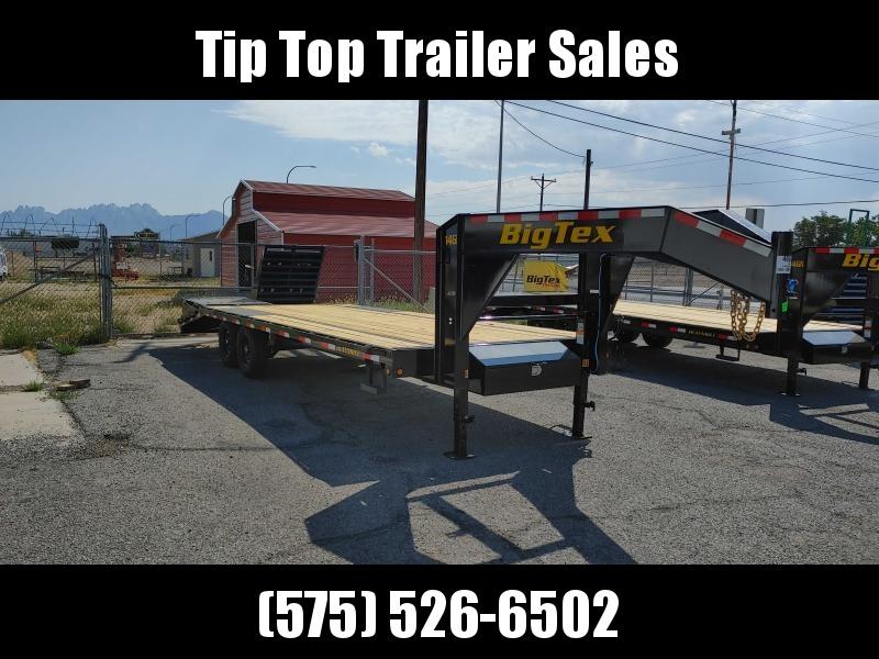 2022 Big Tex Trailers 14GN 20+5 Flatbed Trailer