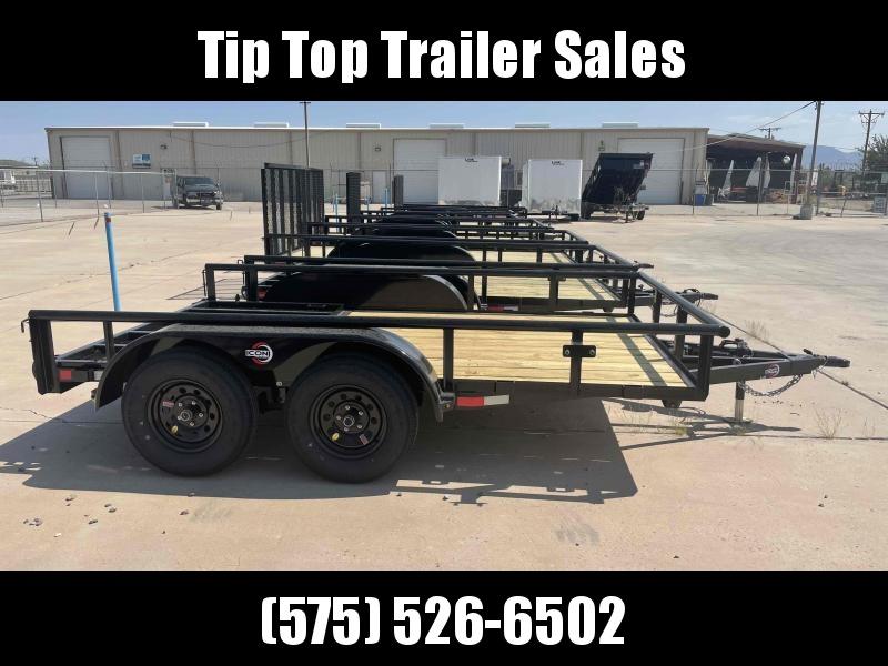 2021 ICON Trailers UTG1283 Utility Trailer