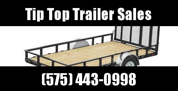 2021 PJ Trailers 77 in. Single Axle Channel Utility (U7) Utility Trailer