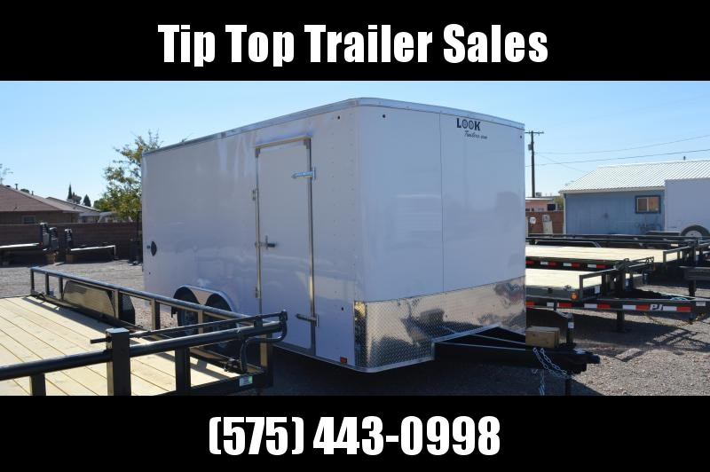 2021 Look Trailers STLC 8.5X16TE2 DLX Enclosed Cargo Trailer