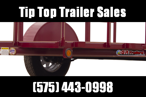 2021 GR Trailers 4' x 8' Single Axle Utility Trailer (UT4008W02L) Utility Trailer