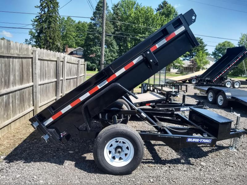 2019 Sure-Trac 5x8 Low Profile Single Ram Dump Trailer