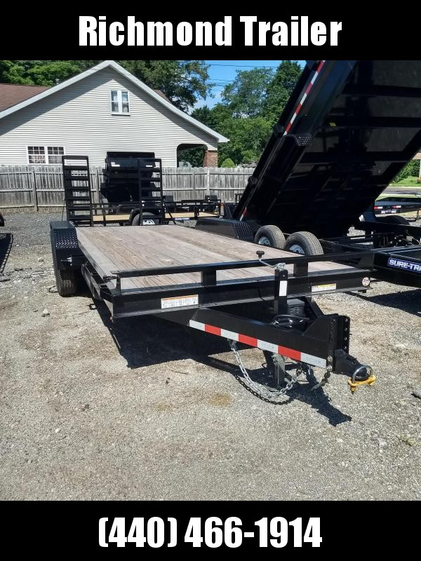 2018 Sure-Trac 7x20 Implement Equipment Trailer
