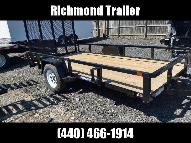 2019 Sure-Trac 6x12 Tube Top Utility Trailer