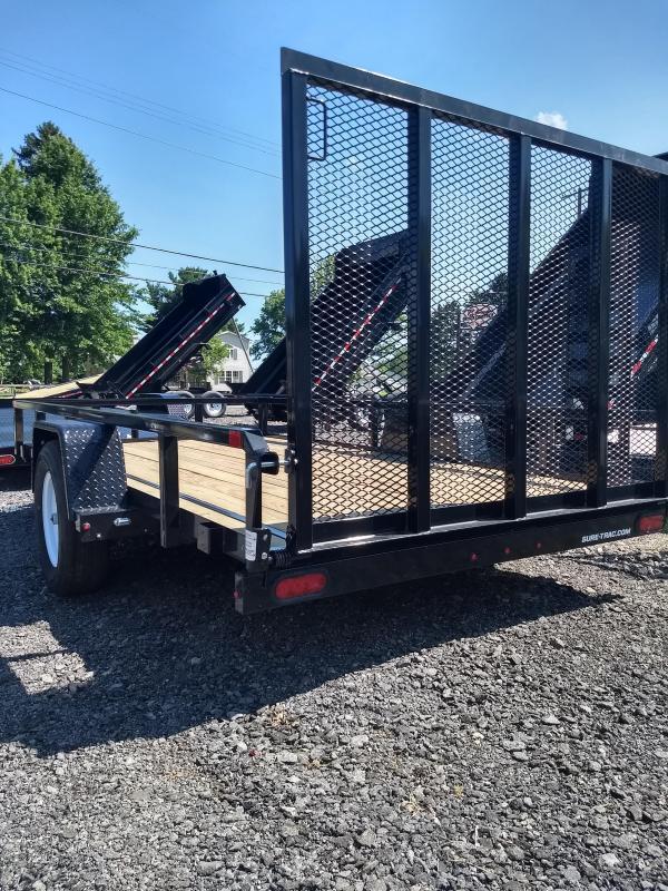 2019 Sure-Trac 6x12 Tube Top Utility Trailer