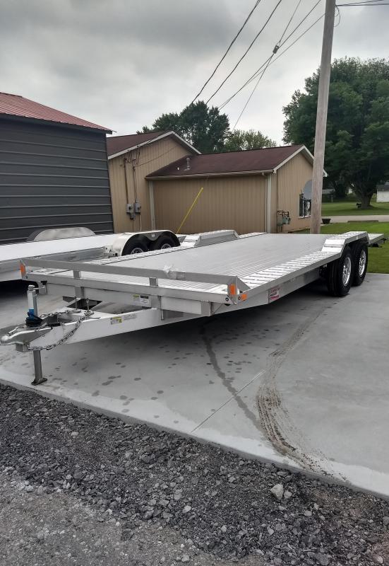 2018 American Hauler Industries 8.5x20 Drive Over Equipment Trailer