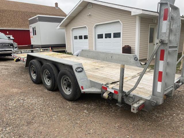 2019 Other LWL Equipment tri axle 21K Equipment Trailer