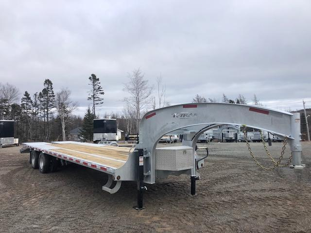 COMING SOON K Trail 25+5 Gooseneck 24K Deck over trailer