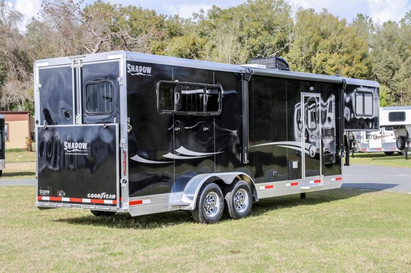 2019 Competitor 3H Slant Load Gooseneck with LQ Horse Trailer