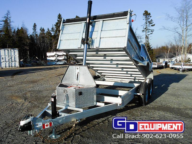 2021 K Trail 6 x 12 Dump - 10000 LB Galvanized