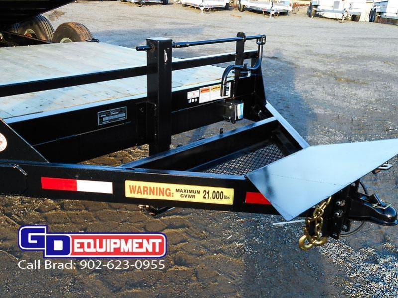 2019 LWL Industrial Tilt 22' tilt / Equipment trailer