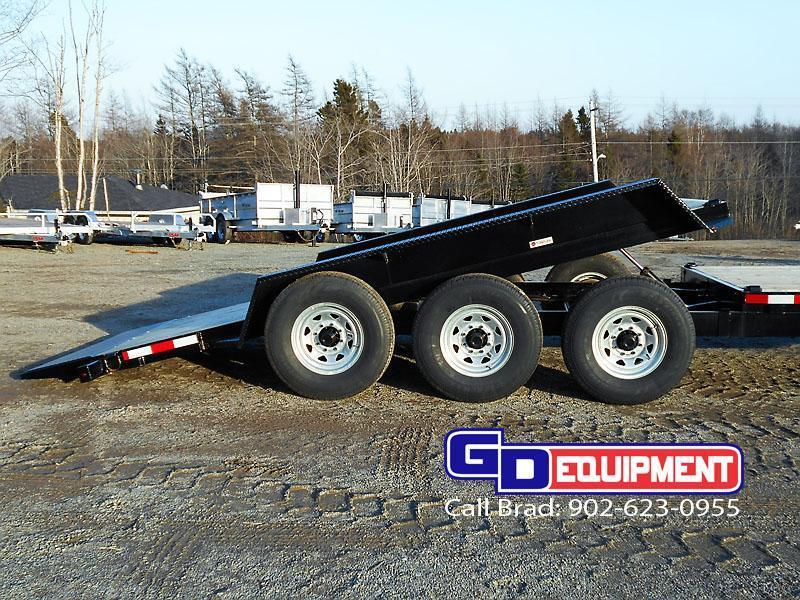 2021 LWL Industrial Tilt 22' tilt / Equipment trailer