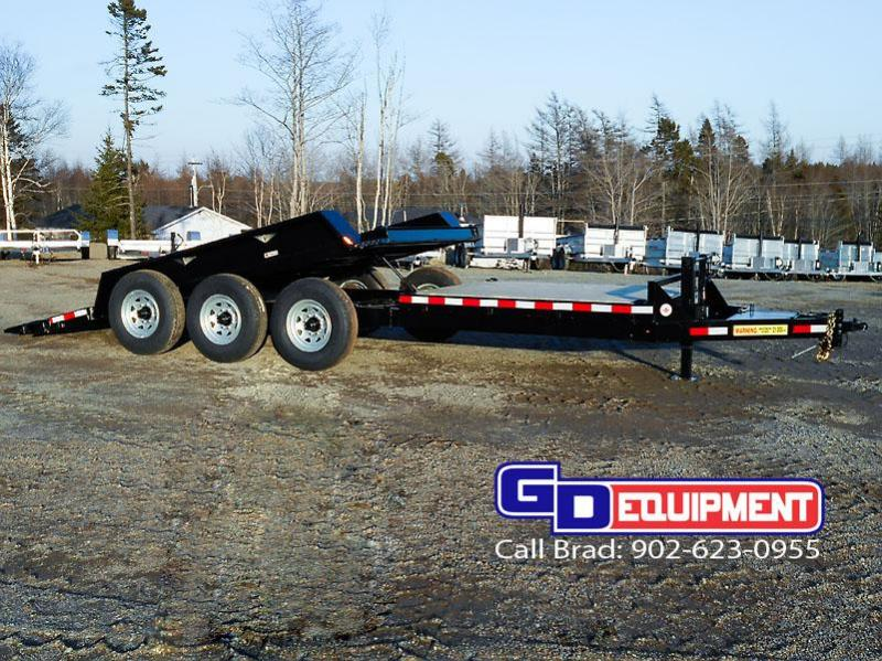 2021 LWL Industrial Tilt 22' tilt / Equipment trailer