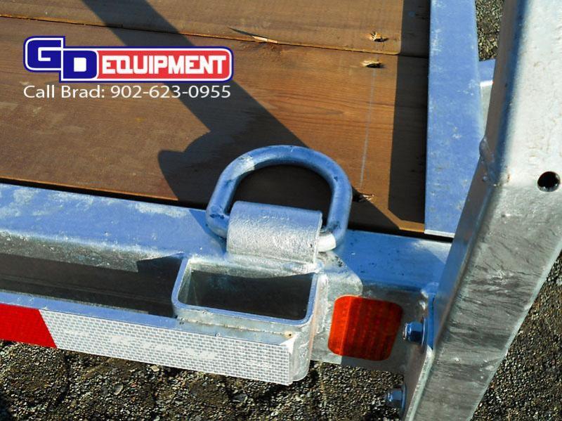 2021 K Trail CH 20 - 10k Galvanized car hauler trailer