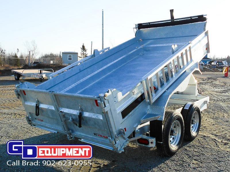 "2021 K Trail 82"" x 14' - 14000 LB Dump Galvanized"