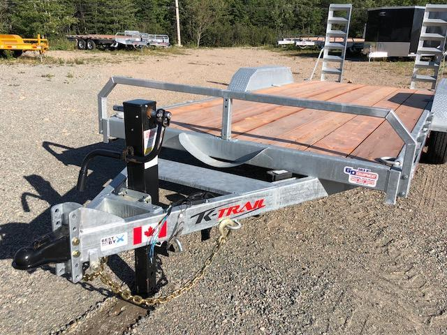 2021 K Trail CH 20 - 14k Galvanized Equipment trailer