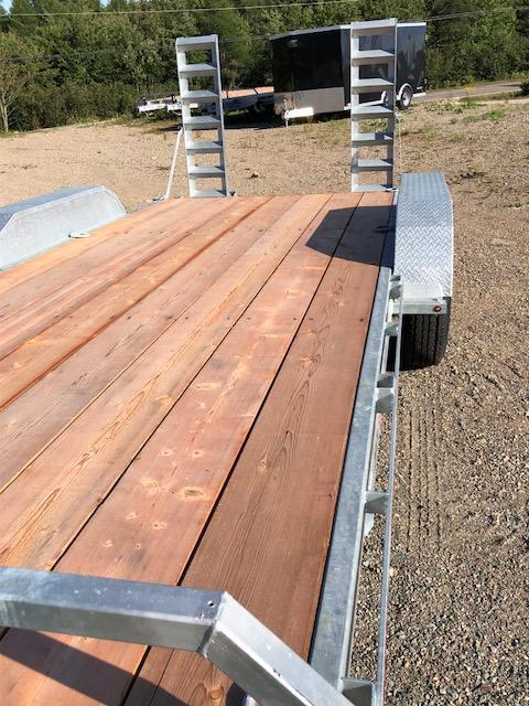 2020 K Trail CH 20 - 14k Galvanized Equipment trailer