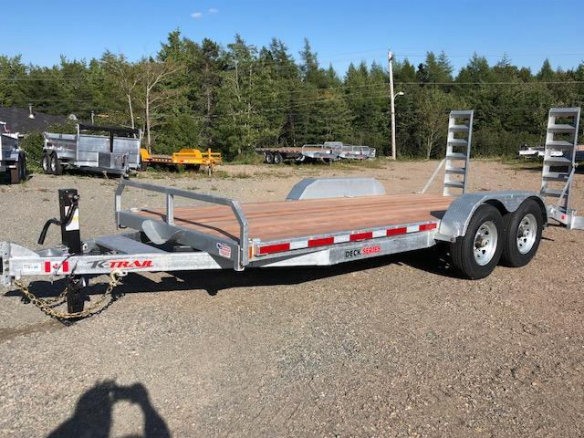 2020 K Trail CH 20 - 14k Galvanized Equipment trailer