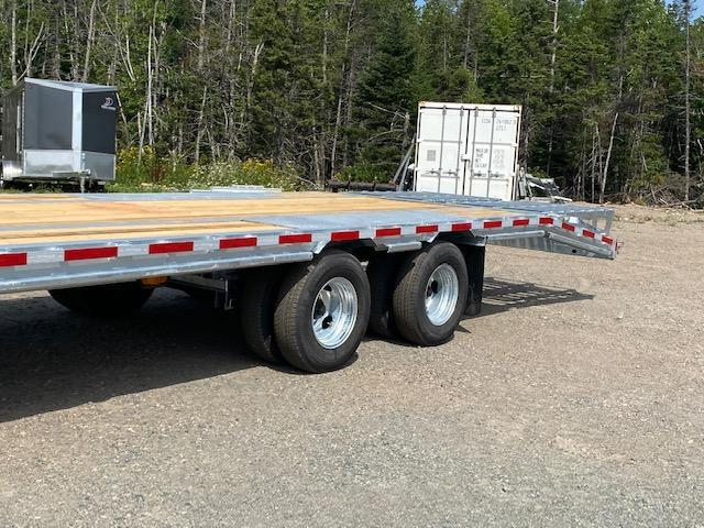 """STOCK 2021 K Trail Tag 25+5LDT24k 40"""" wide ramps Equipment Trailer"""