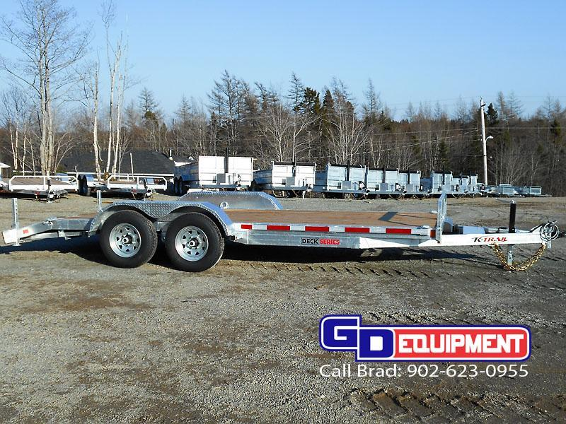 2021 K Trail 16' Car Hauler / Equipment Galvanized