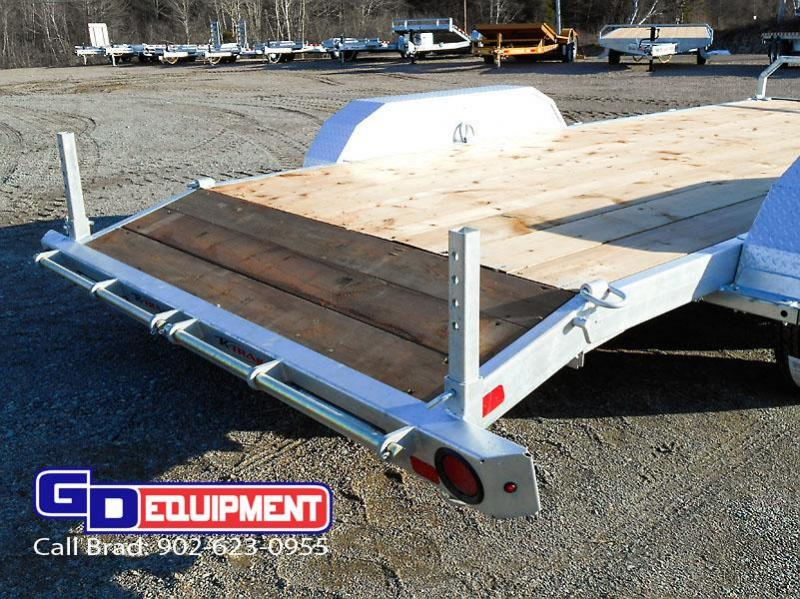 2020 K Trail 16' Car Hauler / Equipment Galvanized