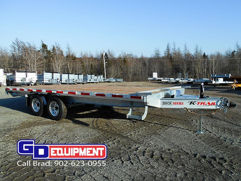2021 K Trail DKO 20' - 14000 lb Galvanized