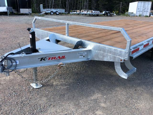 2021 K Trail Deck over 8 1/2 x 16 Flatbed Trailer 5 ton