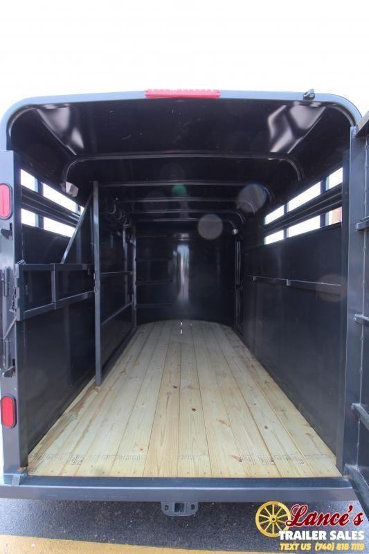 2021 CornPro 14' Horse Package Livestock Trailer