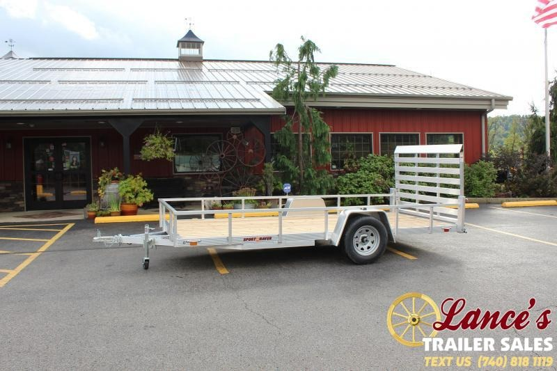 2021 Sport Haven 6'x14' Utility Trailer