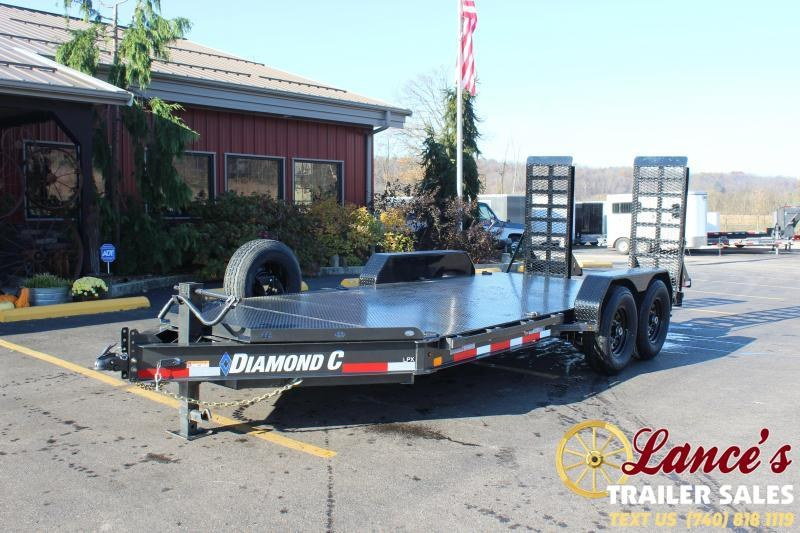 2021 Diamond C 16' Steel Deck Equipment Trailer