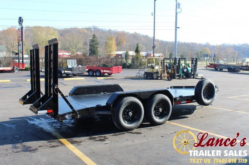 2021 Diamond C 16' Steel Deck Equipment Trailer