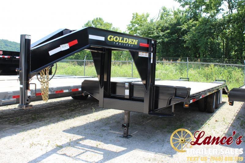 2021 Golden 25' (20'+5') Tandem Dual Equipment Trailer